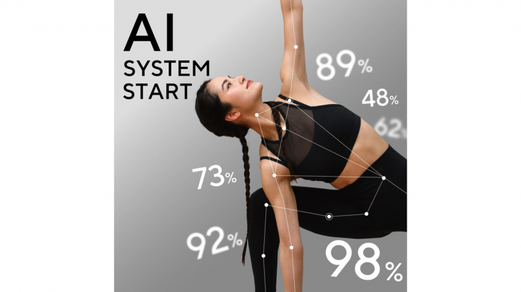 ミラーフィット、人工知能によるフィットネストレーニングの採点機能サービスを提供