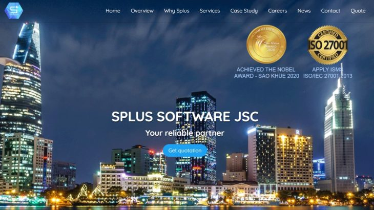 ベトナムのオフショア開発企業|Splus Software(エスプラスソフトウェア)【ソフトウェア開発】