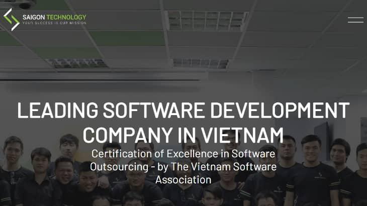 ベトナムのオフショア開発企業 Saigon Technology【Webサイト開発】