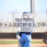 朝日新聞社、スポーツメディア「SPORTS BULL(スポーツブル)」内で展開する「バーチャル高校野球」にて甲子園を配信